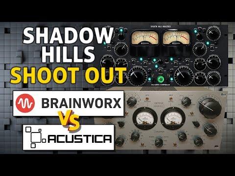 Shadow Hills Native VST from PA/BX vs Acustica Audio Aquamarine 4!! Mastering Compressor Shootout.
