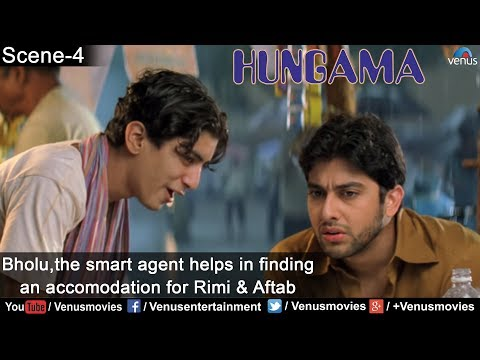Bholu,the smart agent helps in finding an accomodation for Rimi & Aftab (Hungama)