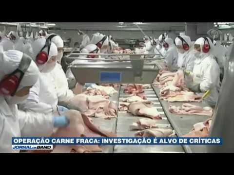 Operação Carne Fraca é alvo de críticas