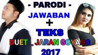 Jawaban Jaran Goyang ( Karaoke Teks ) Nella Kharisma New Pallapa - Parodi