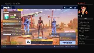 Aleatório duos Fortnite Battle Royale jogadores 1 ganhar nova conta
