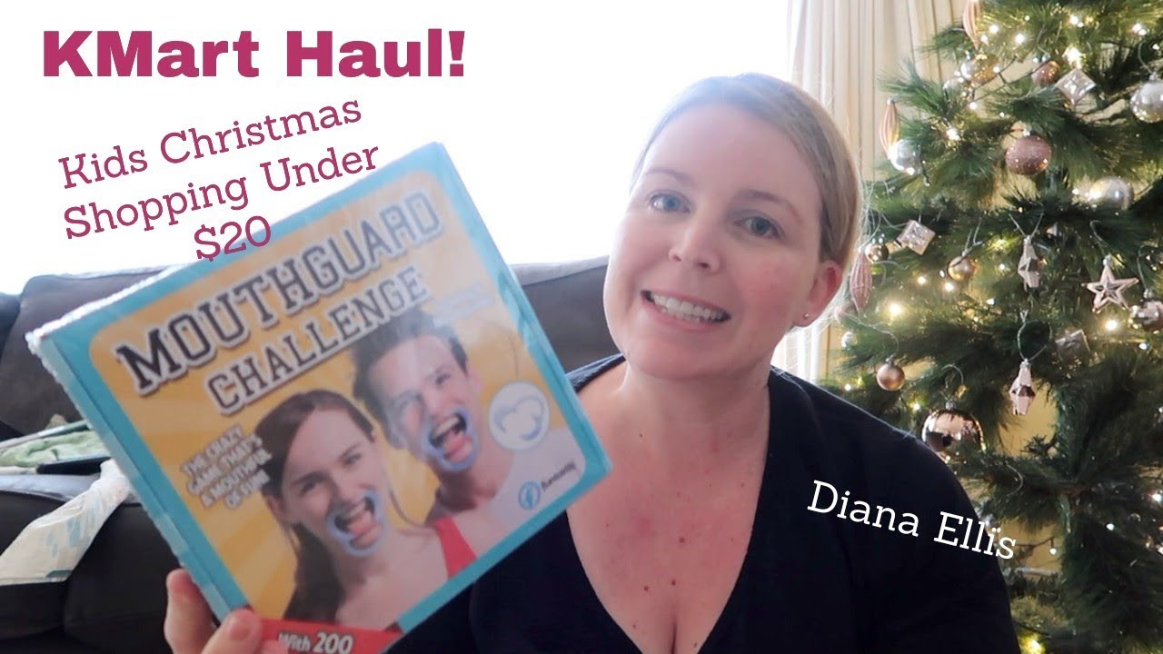 K Mart Haul | Kids Gifts For Christmas| Under $20 | {Diana Ellis ...