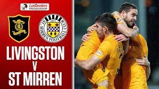 Livingston 3-1 St Mirren   Livingston Come From Behind!   Ladbrokes Premiership