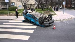 Марица.бг Катастрофата на бул. ''Н. Вапцаров''