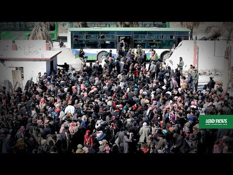 Syrians continue to flee Ghouta enclave