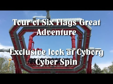 CYBORG Cyber Spin & Six Flags Great Adventure