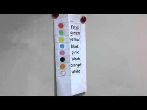 färg på engelska