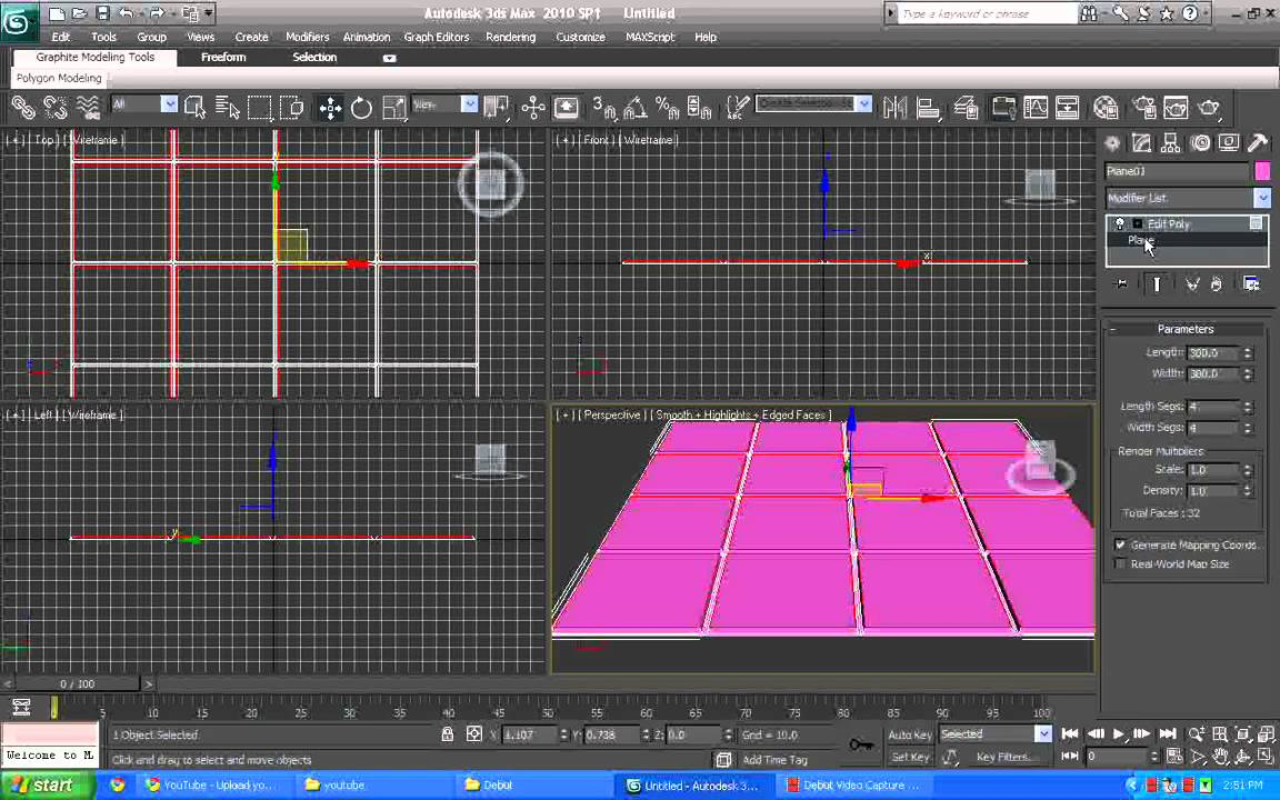 3d Max Creating Basic Tile Floor P1 Youtube
