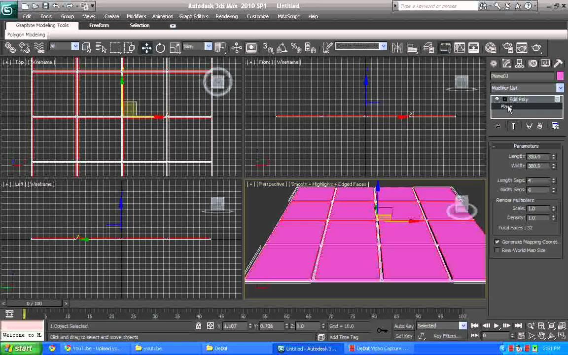 3d max creating basic tile floor p1 [ 1152 x 720 Pixel ]