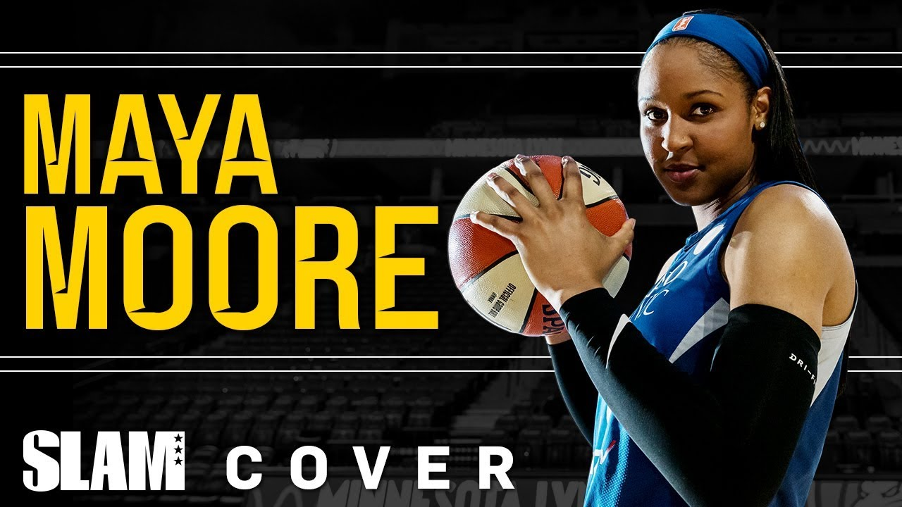 f46d1c00b9c MAYA MOORE: Recognize the GREATNESS 💪🏽   SLAM Cover Shoots - YouTube