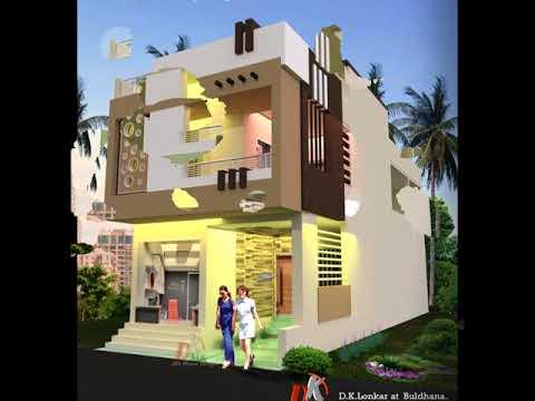 shop attatched home design