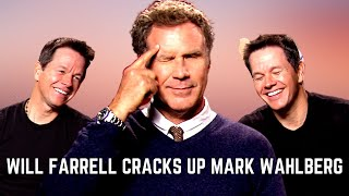 Mark Wahlberg And Will Ferrell (FUNNY) Talk About Teenage Daughters, Dating And Shirt-Off With