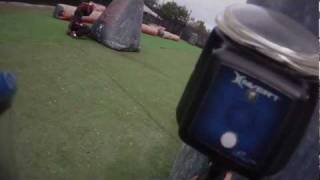 Speedball paintball! Genesis paintball, playing the snake for my firsttime. HD