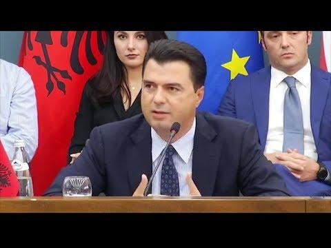Opozita mblidhet në Shkodër, Basha: Platformë për t'i dhënë fund situatës me krimin në Shqipëri