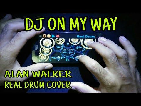 dj-on-my-way---alan-walker-(pubg-musik-indonesia)-real-drum-cover