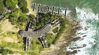 Заброшенный и полуразрушенный  отель на Шри-Ланка. Sri Lanka, Hotel.