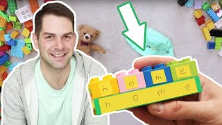 Easy and Fun Game for your Kids to Learn the Alphabet with LEGO DUPLO Bricks! Activity Ideas & DIY