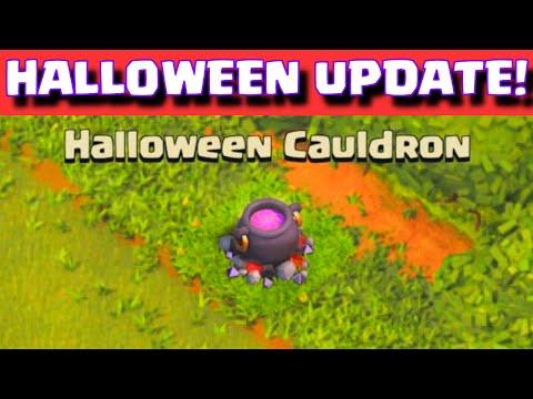 Clash of Clans Halloween Update Event | New Halloween Cauldron Premiere