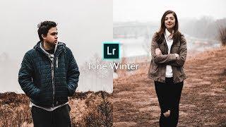 How To Edit Tone Winter - Lightroom Mobile Tutorial [Free Preset]