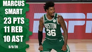 Marcus Smart notches triple-double against Raptors [GAME 6 HIGHLIGHTS] | 2020 NBA Playoffs
