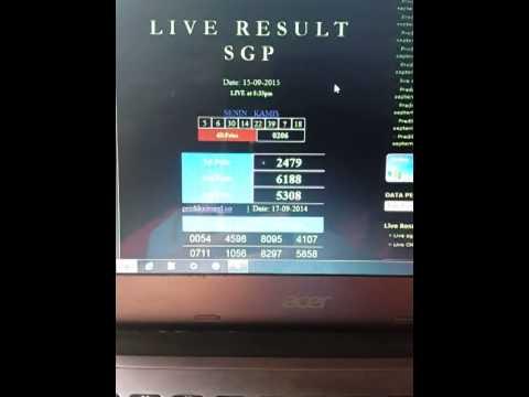 Totobet Sgp Live Result Selasa 30 Mei 2017
