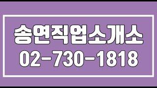 송연직업소개소,종로파출,종로식당파출,동대문구식당파출,마…