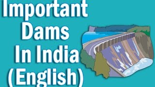 Important Dams in India in English   Static GK for CLAT SSC Banking IBPS, SBI, RRB PO/Clerk