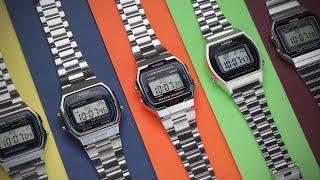 Which Silver Digital Casio Watch Is Best? - Ultimate Budget Roundup | Casio A158 vs A164 vs A168 etc
