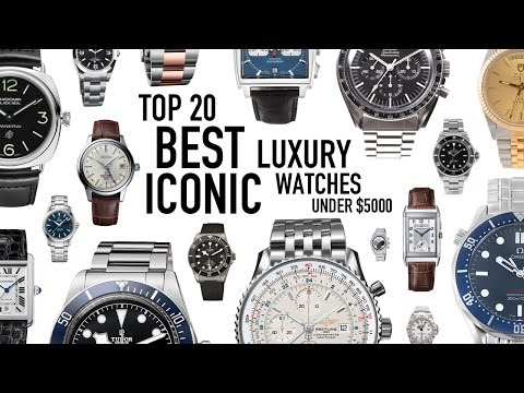 Top 20 Best Iconic Luxury Watches Under $5000 New/Used - Omega, Rolex, Tag Heuer, Tudor, JLC & More
