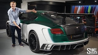 THIS is a Beast of a Bentley! Mansory GT Race