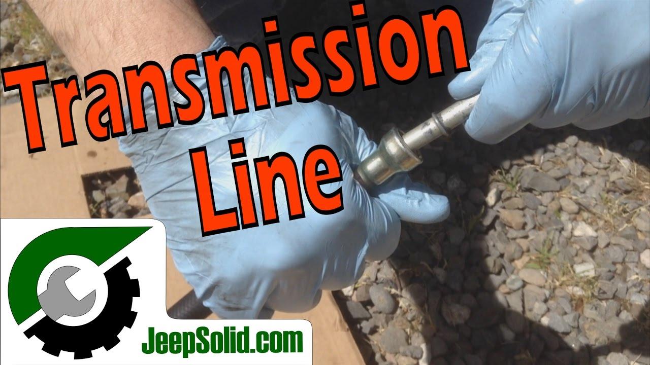 Jeep Leak: Transmission Cooling Line