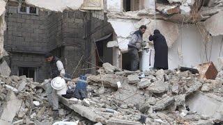 فرنسا قلقة من حصار حلب وتخشى مذبحة في داريا