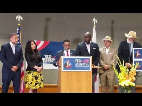 African-born US Citizen, Ted Alemayhu Declares Candidacy For US Congress