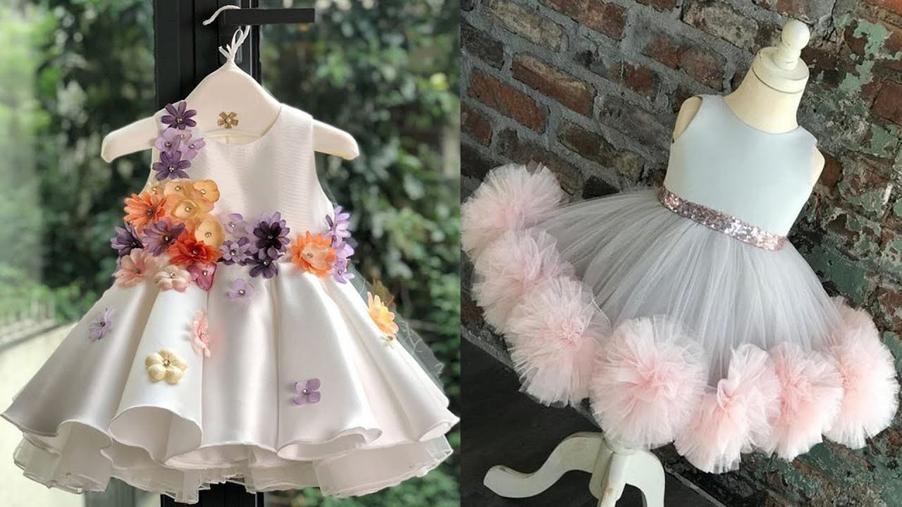Birthday dress ideas for one year old baby girl. First birthday dresses  ideas