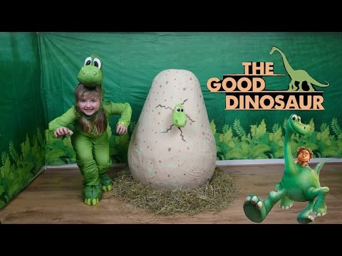 Disney PIXAR The Good Dinosaur Movie Super Giant Surprise EGG WORLDS BIGGEST EVER DINO EGG SURPRISE