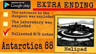[EXTRA ENDING]ANTARCTICA 88   Gameplay - Walkthrough  Horror Action Game [Android - iOS]Survival