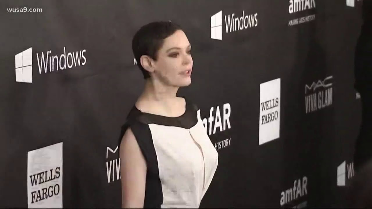 Actress Rose McGowan turns herself in to Va. law enforcement on drug charge