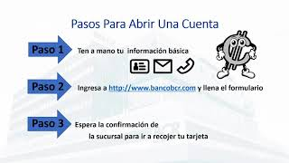 Video Tu Cuenta En 3 Pasos BCR download MP3, 3GP, MP4, WEBM, AVI, FLV Agustus 2018