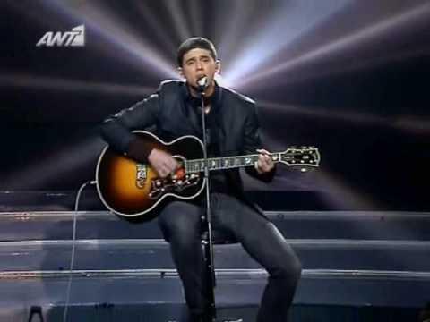 X Factor 2008 - Live show E09 - Nikolas Metaxas  - H skonh