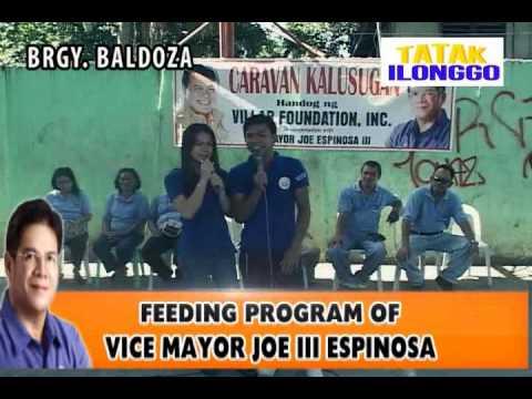 Vice Mayor Atty Joe III Espinosa & Villar Foundation-Feeding at Brgy Baldoza La Paz Iloilo City