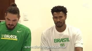 Seleção Brasileira de Basquete chega em Goiânia para jogos pelas Eliminatórias do Mundial China-2019