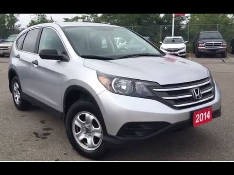 2014 Honda CR-V LX - HONDA CERTIFIED USED VEHICLE | WHITBY OSHAWA HONDA | STOCK #: U3535