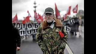 Эдуард Лимонов, патриарх «уличной политики», в студии Радио «Комсомольская правда»