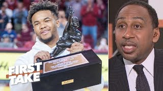 Stephen A. to Cardinals: Draft Kyler Murray No. 1 and don't look back – Stephen A. | First Take