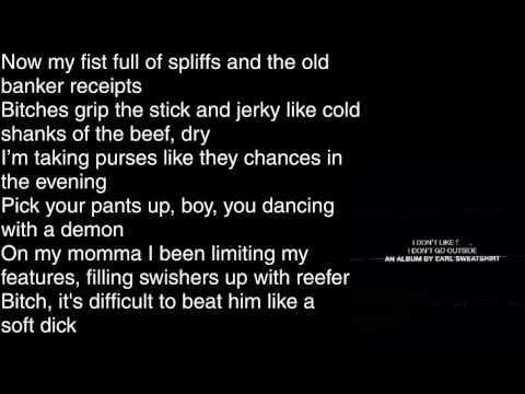 Earl Sweatshirt - Wool Ft. Vince Staples - Lyrics [HD&HQ]