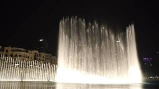 The Dubai Fountain: La Vie En Rose (Edith Piaf)