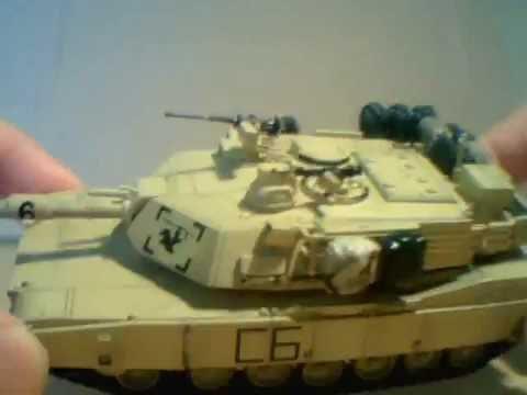 Vodnik's M1A2 kit comparison - part1