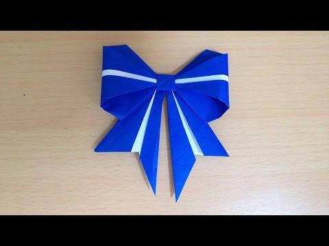 ハート 折り紙:折り紙 リボン 立体 折り方-popmatx.com