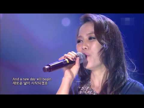MEMORY/THE CATS - SO HYANG,  AMAZING VOICE !!! LIVE HD...