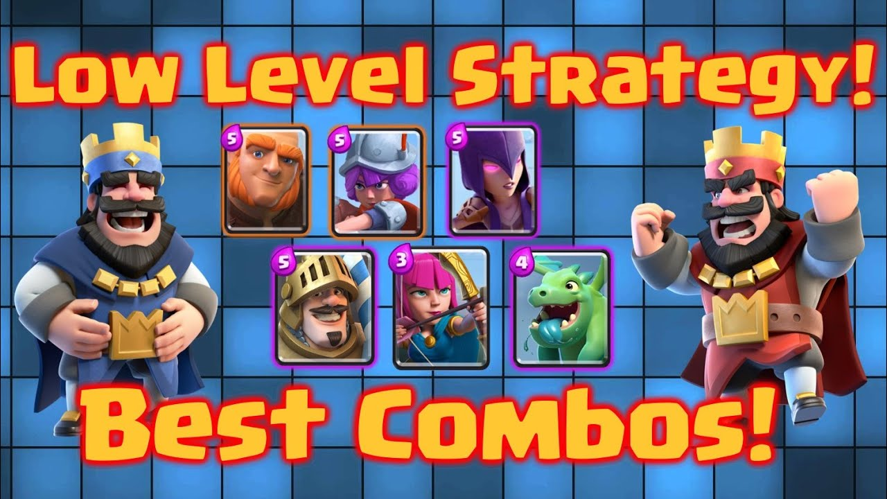 ... Best Combos! Clash Royale Strategy for Beginners Low Arena - YouTube